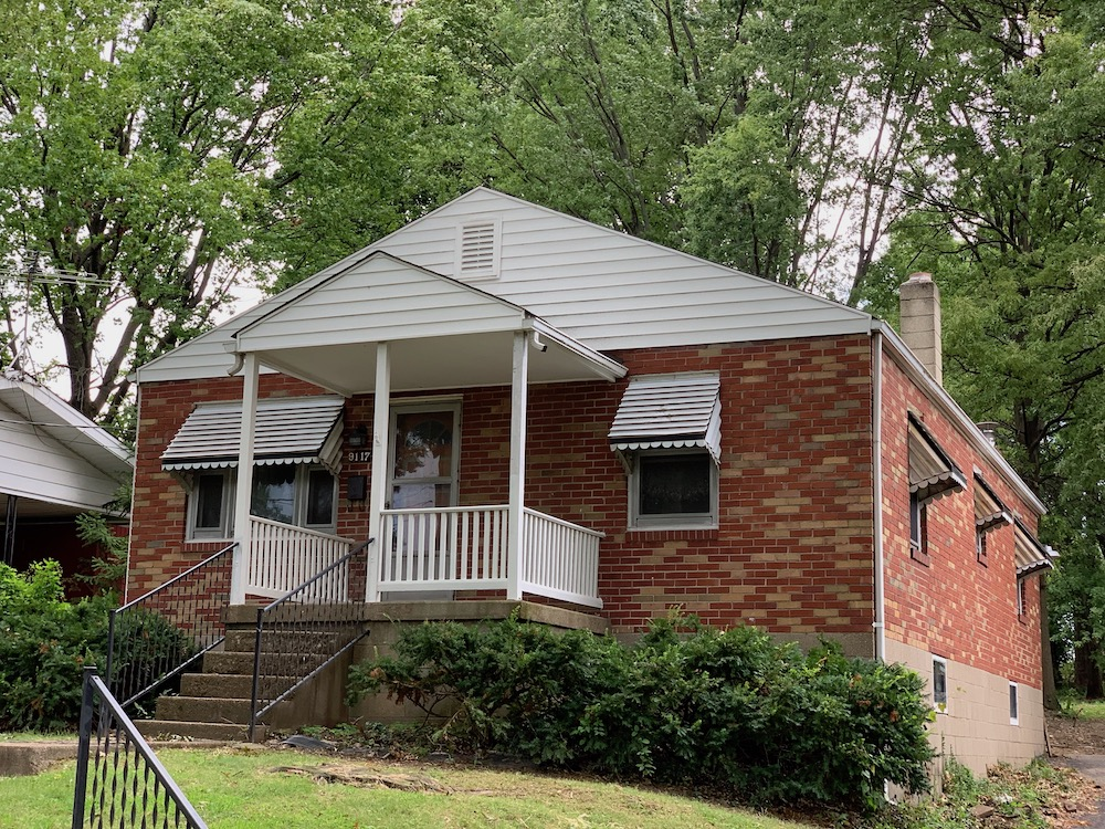 9117 Palmer Ave</br> St. Louis, MO 63114